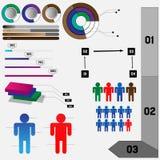 Detailed Infographics Stock Photo