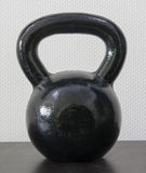 Detailed kettlebell Royalty Free Stock Image