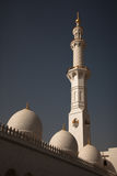Detailed lacing design of a mosque minaret Stock Image