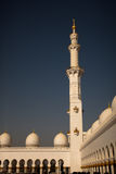 Detailed lacing design of a mosque minaret Royalty Free Stock Photography