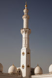Detailed lacing design of a mosque minaret Stock Photo