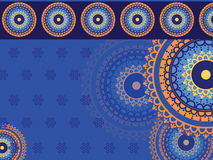 Detailed Mandala Background Stock Images