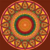 Detailed Mandala Background Stock Images