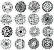 Detailed Mandala Design Stock Images