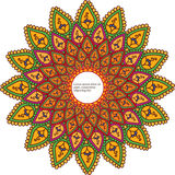 Detailed Mandala Design Stock Images