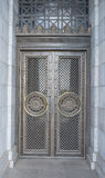 Detailed Metal Doors, Shrine of Remembrance, Melbourne, Australia. Royalty Free Stock Photos