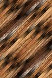 Detailed old mahogany parquet Stock Photo