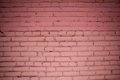 Detailed old red brick wall. Background texture Stock Photo