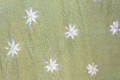 Detailed patterns of batik cloth the natural way Stock Photos