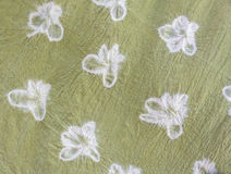 Detailed patterns of batik cloth the natural way stock photo