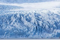 Detailed photo of the Lcelandic glacier ice with a incredibly vi. Vid colors and nice texture royalty free stock photo