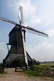Detailed picture of Dutch windmill Stock Photo