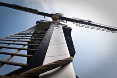 Detailed picture of Dutch windmill Royalty Free Stock Photo