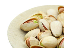 Detailed pistachio nuts Royalty Free Stock Image