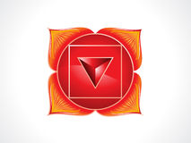 Detailed root chakra Royalty Free Stock Photo