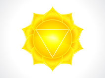 Detailed solar plexus chakra Stock Photos