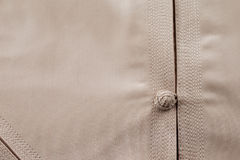 Detailed stitching of Kandura, the ankle-length garment Royalty Free Stock Images
