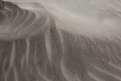 Detailed structure of a sand dune Stock Photo
