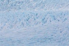 Detailed surface structure of Vatnajokull glacier royalty free stock photos