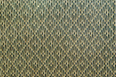 Detailed texture of cells knitted fabric Stock Images