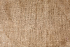 Detailed texture of creased burlap stock images