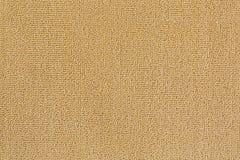 Detailed texture of new and clean floor rug, doormat in beige co Stock Photo
