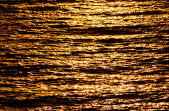 Detailed Texture Of Sea Water Stock Photography