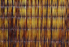 Woven cane background Stock Photo