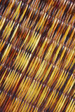 Woven cane background Royalty Free Stock Photo