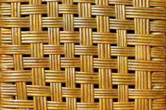 Woven rattan background Stock Images