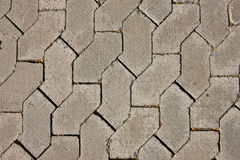 Detailed textures of roads. Road textures, close-up shot of cubes Stock Images