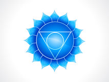Detailed throat chakra Stock Photos