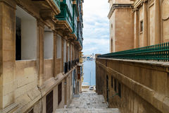 Detailed Valletta View Royalty Free Stock Photos