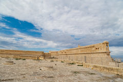 Detailed Valletta View Royalty Free Stock Photography