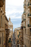 Detailed Valletta View Royalty Free Stock Photo
