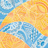 Detailed variety pattern doodle Royalty Free Stock Photo