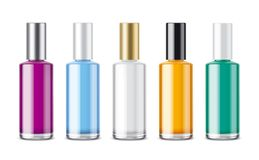 Bottles for perfume royalty free stock photography