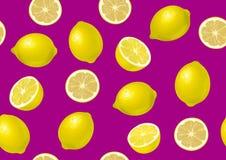 Lemon on background stock photography