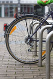 Detailed view of bicycle tire Royalty Free Stock Photos