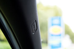 Detailed view of car interior Stock Photography
