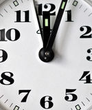 Detailed view of a clock Royalty Free Stock Photography