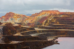 Rio Tinto mine Royalty Free Stock Images