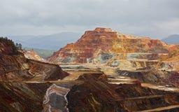 Rio Tinto mine Stock Image