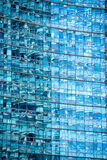 Detailed view on full frame of glass windows Royalty Free Stock Images
