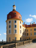 Detailed view of Moritzburg castle tower Stock Image