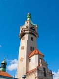 Detailed view od old lighthouse in Sopot Royalty Free Stock Photo