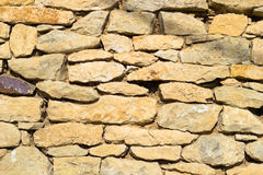 Texture of old stone wall Royalty Free Stock Photography