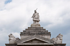 Free Detailed View On The Arpad Statue Royalty Free Stock Image - 20652296