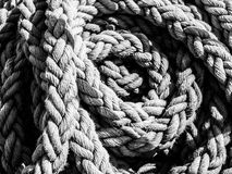 Detailed view of rope ball Stock Photos