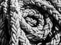 Detailed view of rope ball Royalty Free Stock Image